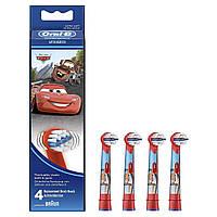 Насадки 4 шт Oral-B Stages Kids Cars/ Тачки на детские зубные щетки EB-10