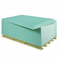 Гипсокартон влагостойкий Knauf 1,2x3,0м, 12,5мм