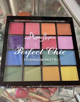 MARIA AYORA 16 Colors Eyeshadow Palette Waterproof Eye Makeup 03