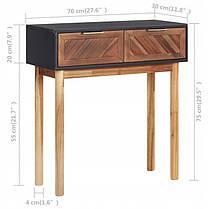 Консольный столик TPS 70x30x75 cm, фото 2