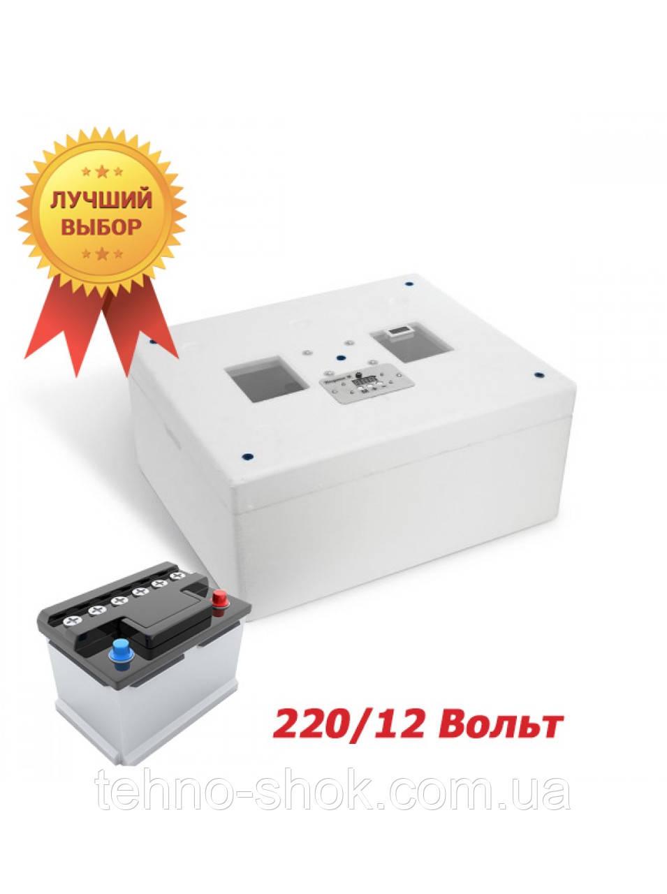 Инкубатор для яиц НЕСУШКА-М 76 ЭКСПОРТ (автоматический переворот,12D,цифровой терморегулятор,влагомер,ТЭН)
