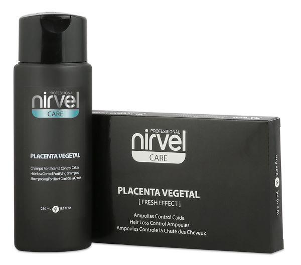 Nirvel Anti-hair loss. Набір шампунь і ампули від випадіння волосся.
