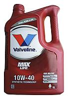 Масло моторное VALVOLINE MAXLIFE DIESEL 10W-40, 5л