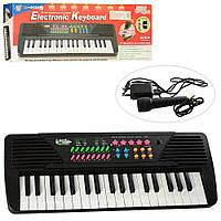 Синтезатор 37 клавиш, микрофон, звуковая запись ДЕМО