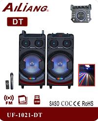 Активная акустика Ailiang UF-1021-DT   Bluetooth Пульт ДУ   профессиональная акустическая система