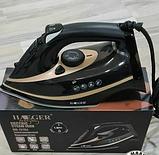 Паровий електричний праска Haeger HG-1215 (2200Вт, сухе прасування, розбризкування, відпарювання), фото 3