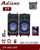 Активна акустика Ailiang UF-1021-DT | Bluetooth Пульт ДУ | професійна акустична система