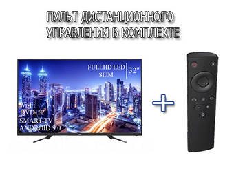 "Телевізор JVC 32"" Smart-TV FullHD T2 USB Гарантія 1 РІК Android 9.0"