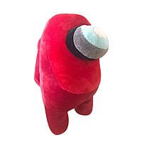 Мягкая игрушка амонг ас Among us (красный) 20см