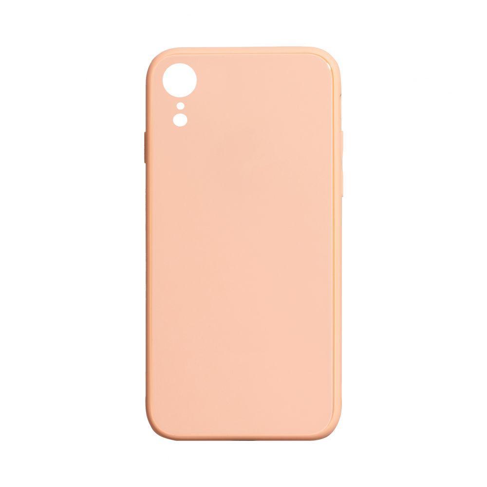 Чохол TPU Glass Logo Full for Apple Iphone Xr