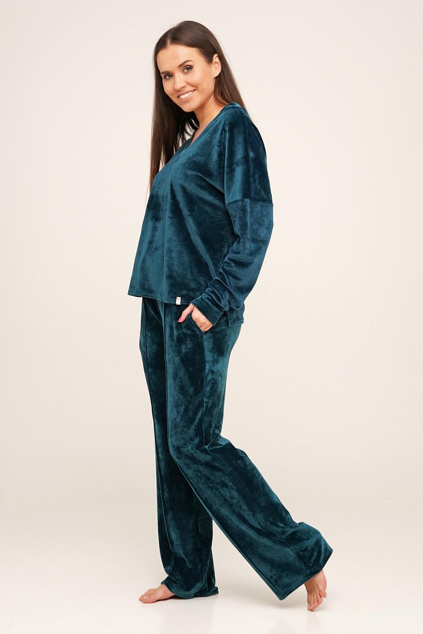 Велюровый костюм штаны и кофта TM Orli