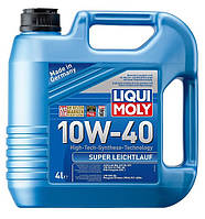 Моторное масло полусинтетика LIQUI MOLY 10W-40 Super Leichtlauf  4L