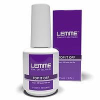 Top It Off Lemme ( финиш для гель лака с липкостью ), 15мл