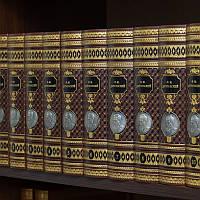 Библиотека в 10-ти томах Ф.М.Достоевский книги в коже