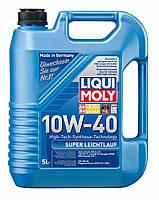 Моторное масло полусинтетика LIQUI MOLY 10W-40 Super Leichtlauf  5L