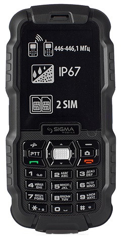 Мобильный телефон Sigma mobile X-treame DZ67 Travel black