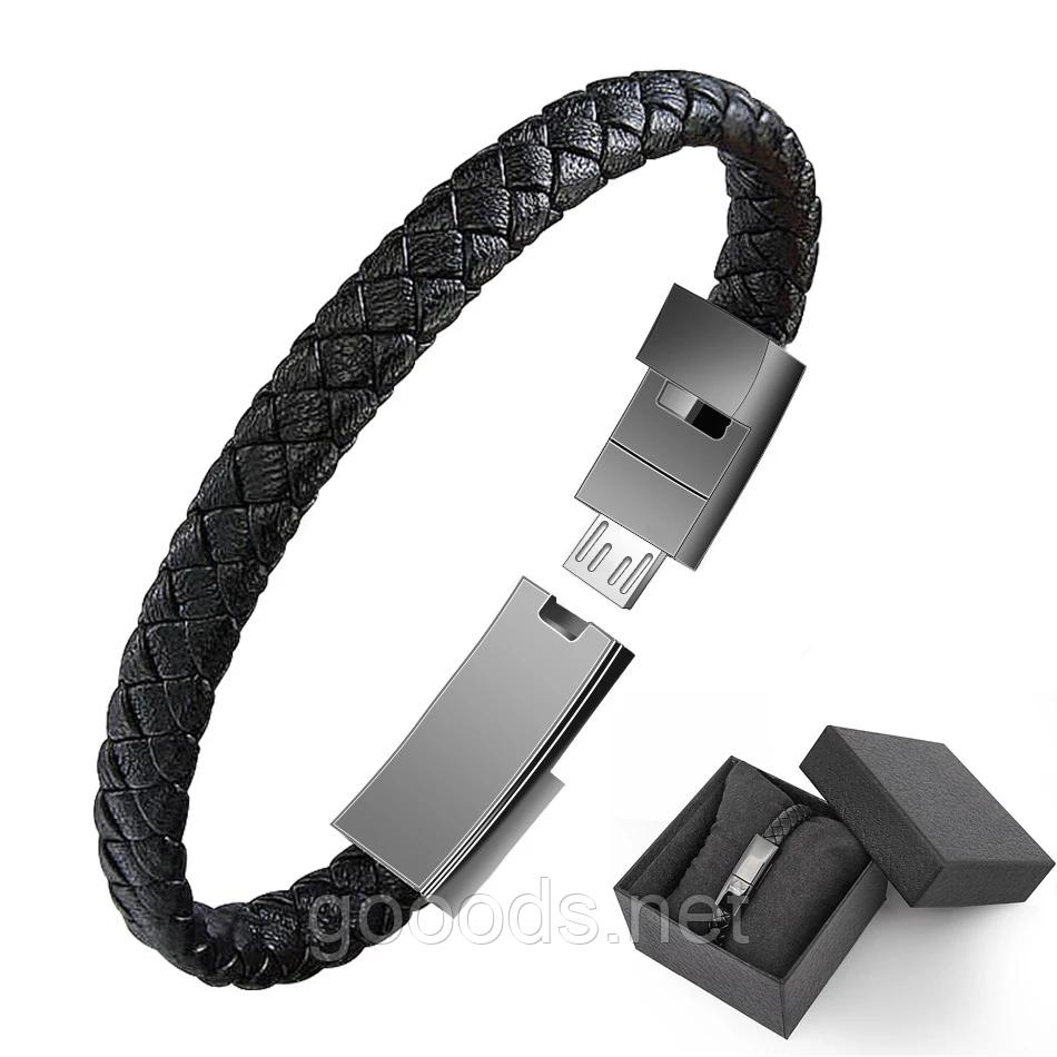 Usb кабель браслет для зарядки и синхронизации с телефоном