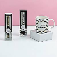 """Подарунковий набір з чашки, ложки та ручки B&G """"Моєму улюбленому"""""""