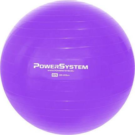 Мяч для фитнеса и гимнастики POWER SYSTEM PS-4018 85 cm Purple, фото 2