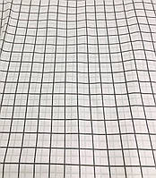 Ткань Бязь Gold Клетка белая 220 см, фото 1