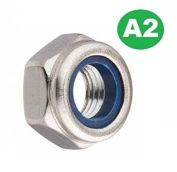 Контргайка Нержавеющая А2 М4 (DIN 985)