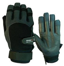 Перчатки для кроссфита PowerPlay 2076 Черные S
