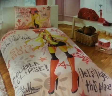 Постельное белье Tac Disney - Winx Holiday Stella 160*220 подростковое