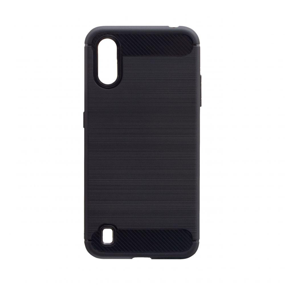 Чохол Polished Carbon Samsung A01
