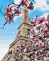 "Картина по номерам. Brushme ""Цветение магнолий в Париже"" GX32320"