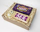 """Игра-набор для взрослых  """"Сладко и страстно"""": 40 пикантных заданий, шоколадная камасутра, кубики с позами, фото 4"""