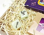 """Игра-набор для взрослых  """"Сладко и страстно"""": 40 пикантных заданий, шоколадная камасутра, кубики с позами, фото 9"""