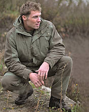 Куртка парка охотничья с флисовой подкладкой Green MIL-TEC 11951001