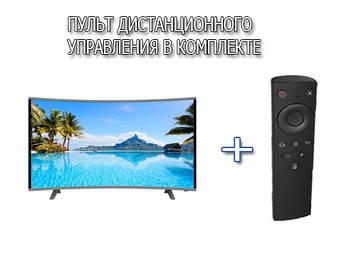 "Изогнутый телевизор Comer 32"" Smart TV Android 7.0 FullHD/DVB-T2/USB+Пульт Д,У"