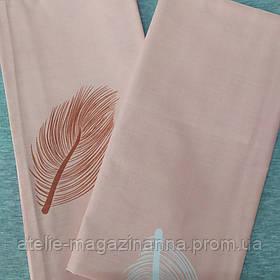 Наволочка на подушку 70*70 розовая