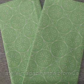 Наволочка на подушку 70*70 Зелёная абстракция
