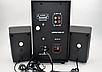 Компьютерные колонки + сабвуфер 2.1 AiLiang USBFM-F35DC-DT (2x3 Вт + 10 Вт), фото 3