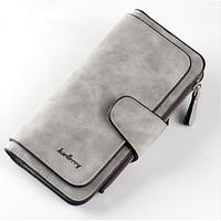 Жіночий клатч - гаманець BAELLERY Світло - сірий