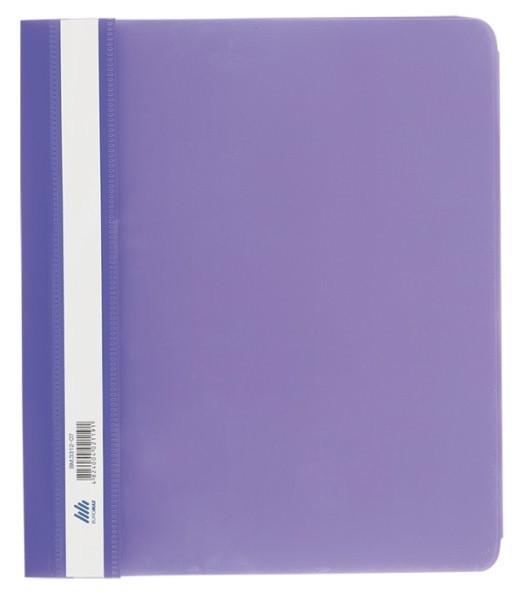 Швидкозшивач пласт А5 РР фіолетовий (BM3312-07)