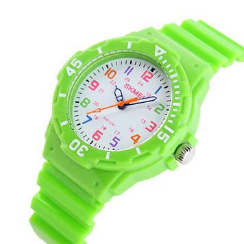 Детские часы Skmei 1043 зеленые