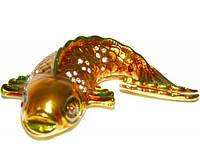 Шкатулка ювелирная Золотая рыбка