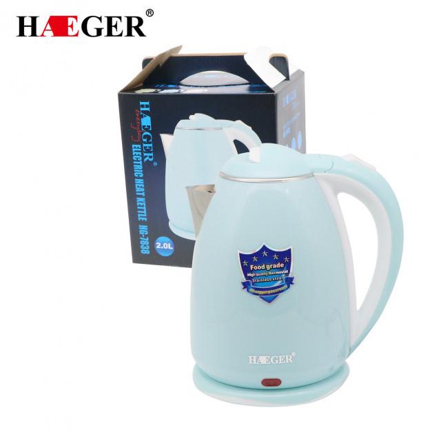 Чайник электрический дисковый Haeger HG-7838 (2.0 л) | электрочайник