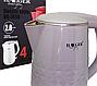 Чайник электрический дисковый Haeger HG-7858 (2.0 л) | электрочайник, фото 2