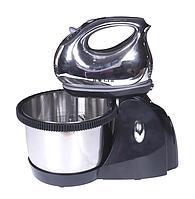 Миксер с чашей Haeger HG-6628 ручной (1000 Вт) | миксер 5 скоростей, фото 1