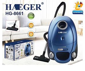Вакуумний пилосос мєшковой Haeger HG-8661 (2400W) | пилозбірник 2 літра