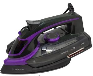Паровий електричний праска Haeger HG-1293 (2400Вт) фіолетовий