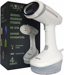 Потужний ручний відпарювач для одягу Haeger HG-1278 (1500Вт) білий