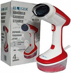 Потужний ручний відпарювач для одягу Haeger HG-1278 (1500Вт) червоний