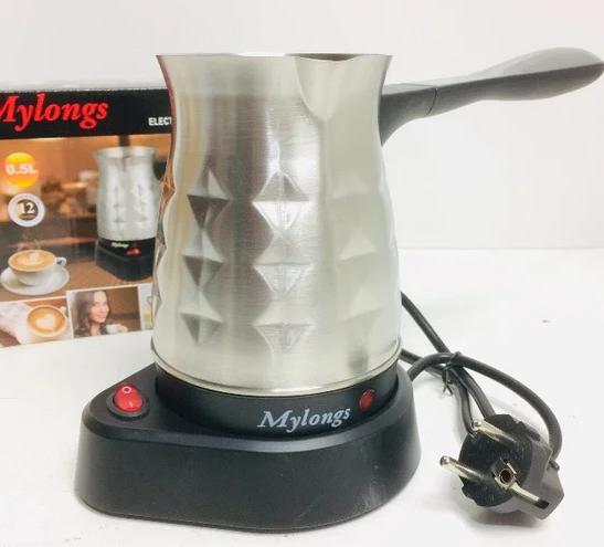 Турка электрическая Mylongs KF-005 | электротурка металл