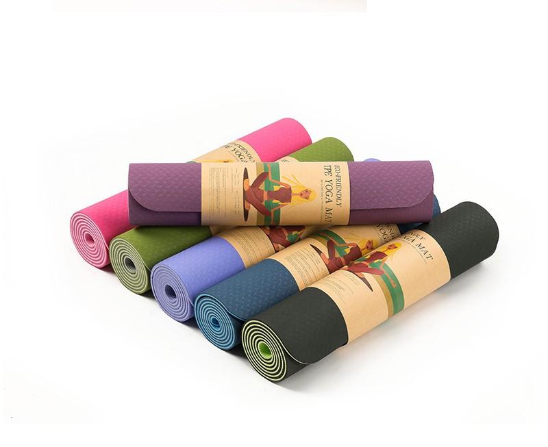 Коврик для йоги. Нескользящий коврик для йоги