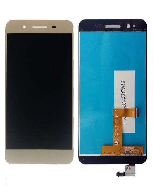 Дисплей для Huawei Enjoy 5s | GR3 (TAG-L21 | TAG-L01 | TAG-L03) з сенсорним склом (Золотий) Оригінал Китай